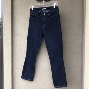 Tommy Hilfiger Cropped Dark Blue Stretch Jeans 6